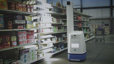 How Bossa Nova's robots track inventory at Walmart stores