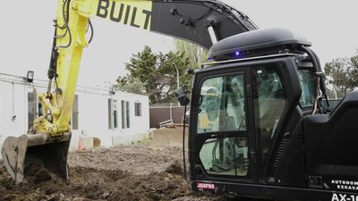 Built Robotics brings self-driving to construction