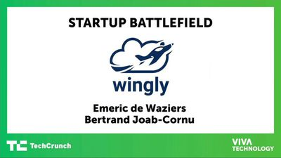 Wingly presents at Startup Battlefield Europe