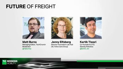 The Future of Freight with Jenny Elfsberg (Volvo) and Kartik Tiwari (Starsky Robotics)