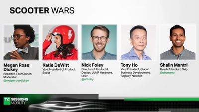 Scooter Wars with Katie DeWitt (Scoot), Tony Ho (Segway-Ninebot), Nick Foley (JUMP), and Shalin Mant