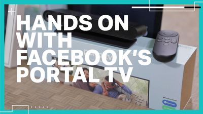 Hands on with Facebook's Portal TV