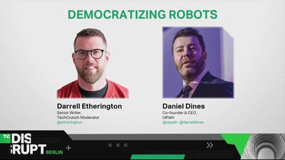 Democratizing Robots with Daniel Dines (UiPath)
