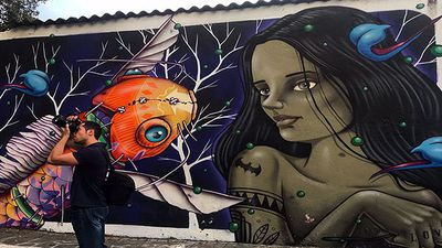 The ever-changing graffiti canvas of Sao Paulo's Vila Madalena is a once in a lifetime experience