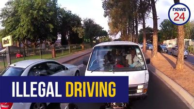 WATCH: Taxi driver arrested after going viral for driving on the wrong side of the road