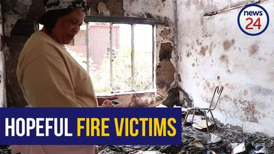 WATCH: Edenvale fire victims overwhelmed by donations after losing everything