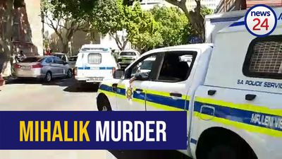 WATCH: Heavy police escort for Mihalik accused