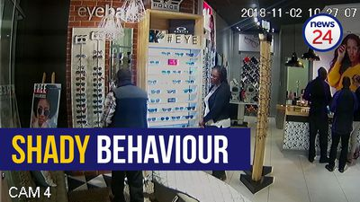 WATCH: Shady character steals designer sunglasses