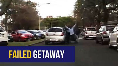 WATCH: Durban thieves give up after relentless pursuit by security officers
