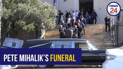 WATCH: Two 'high-ranking gangsters' among mourners at Pete Mihalik's funeral