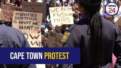 VIDEO: 'We pay R2 to use mall toilets' – Cape Town informal settlement residents demand basic servic