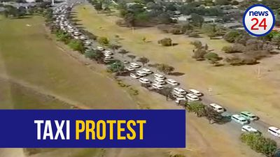 WATCH: Aerial view of Secunda taxi strike