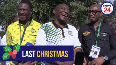 2017: WATCH: A News24 Festive Season special - politicians 'sing' Last Christmas