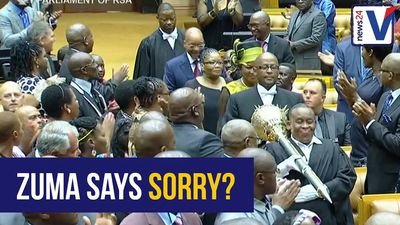 PARODY: Jacob Zuma sings Elton John's Sorry Seems To Be The Hardest Word