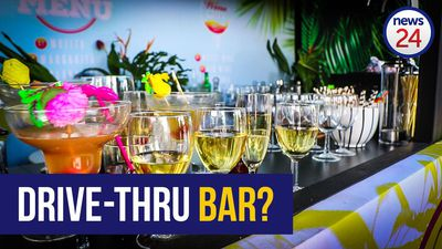WATCH: Jozi launches first ever drive-thru bar, or does it?