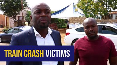 WATCH: Tshwane mayor visits Pretoria train crash victims' families