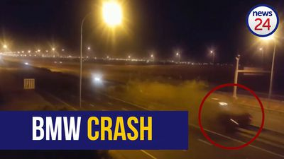 VIDEO: New footage shows devastation after Cape Town N1 high speed crash