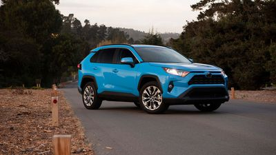 A look at the new Toyota RAV4 Hybrid