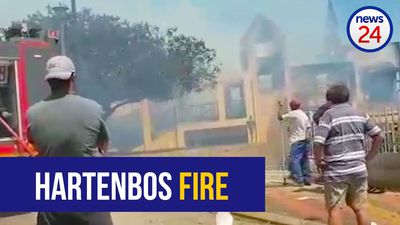 WATCH: Video shows razed homes after fire sweeps through Hartenbos, Mossel Bay