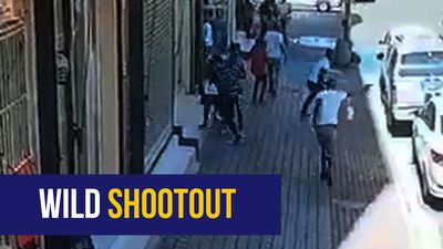 WATCH: Joburg security guard wounded in shootout with armed robbery suspects