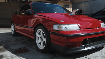 This Honda CRX is not your average daily drive