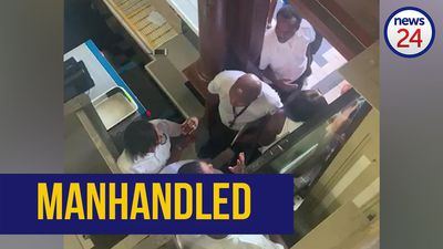 WATCH: Journalists manhandled and barred from Durban City Hall
