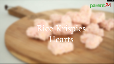 How to make Rice Krispies hearts for Valentine's Day