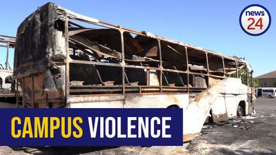 WATCH: Buses burned, windows shattered in CPUT violence