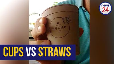WATCH: The problem isn't plastic, but single use - lid of a take away coffee cup equal to 8 straws