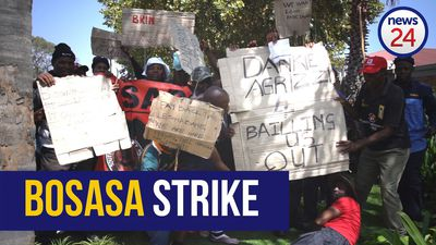 WATCH: Striking Bosasa workers didn't know about liquidation
