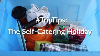 How to prep for a self-catering trip like a pro