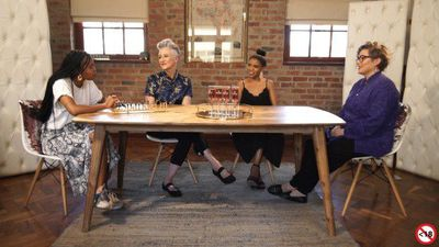 3 generations of women on A Seat At The Table discuss love and relationships