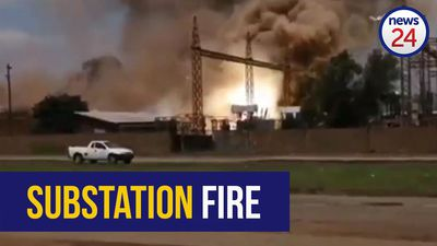 WATCH: Emfuleni substation explodes, leaving parts of Vanderbijlpark in the dark