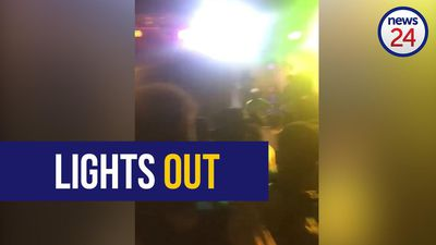 WATCH: Eskom leaves partygoers in the dark
