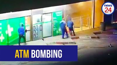 WATCH: Undisclosed amount of cash stolen in Delmas ATM bombing