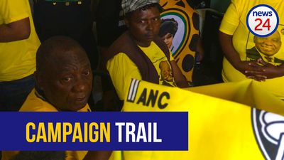 WATCH: Delft resident asks ANC for his promised geyser as Ramaphosa campaigns