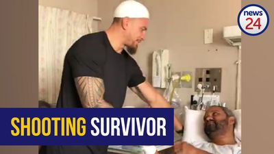 WATCH: All Black Sonny Bill Williams visits SA-born mosque attack survivor in hospital
