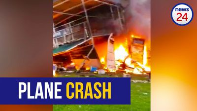 WATCH: Pilot dies after crashing plane, allegedly to kill wife following argument