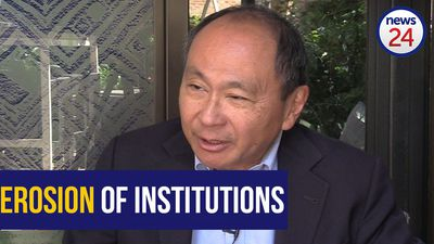 WATCH: Fukuyama: 'Why SA must defend its institutions'