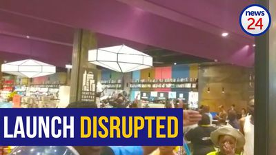 WATCH: Launch of Ace Magashule book disrupted