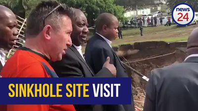 WATCH: Ramaphosa visits Amanzimtoti following deadly floods