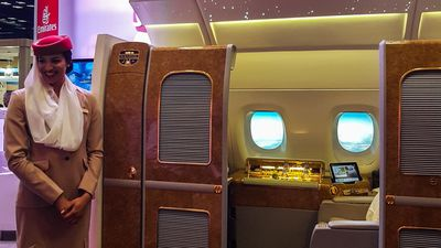 A sneak-peek at Emirates' luxe First Class suite coming to Durban