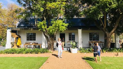 The Tree House experience for 'free range' kids at Boschendal