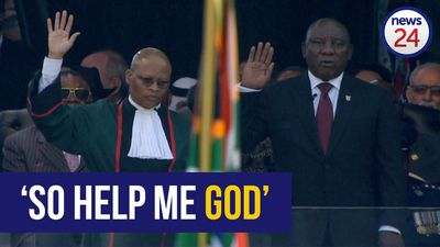 WATCH: Cyril Ramaphosa sworn in as South Africa's sixth democratically elected president