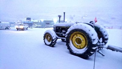 Winter has come to Afriski Mountain Resort - all the snow-making fun in Lesotho!