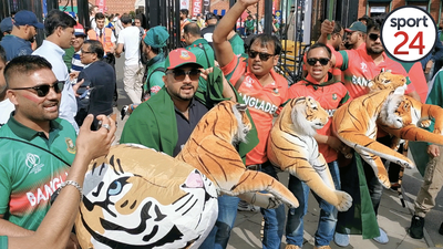 WATCH: Bangladesh fans swarm The Oval ahead of World Cup clash against Proteas