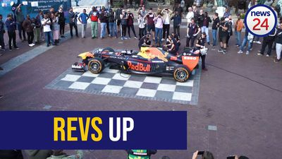 WATCH: Start your engine - Red Bull F1 car revs SA National Anthem
