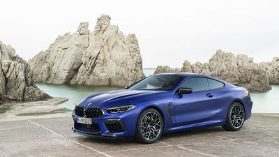 The all-new BMW M8 Competition Coupe