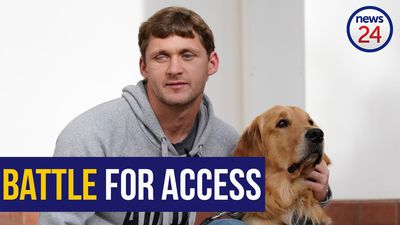 WATCH: Blind Paralympian's court victory gives hope to SA guide dog users