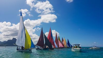 WATCH: The most beautiful boat race can be found in Mauritius
